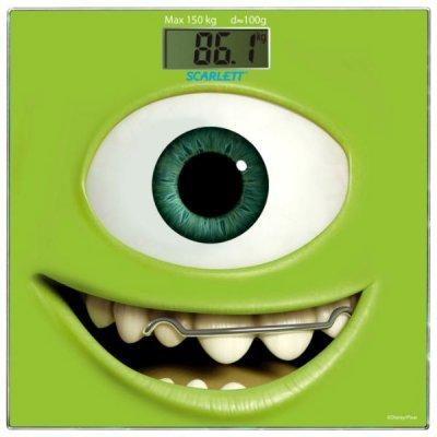 Весы Scarlett SC-BSD33E897 (SC-BSD33E897)Весы Scarlett<br>Весы напольные электронные Scarlett SC-BSD33E897 макс.150кг зеленый/рисунок<br>
