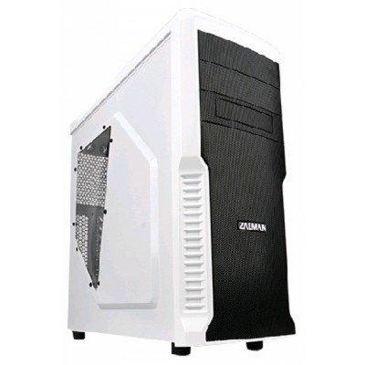 Корпус системного блока ZALMAN Z3 PLUS WHITE (Z3 PLUS WHITE)Корпуса системного блока ZALMAN<br>Корпус Zalman Z3 PLUS белый w/o PSU ATX 1x120mm 2xUSB2.0 1xUSB3.0 audio bott PSU<br>
