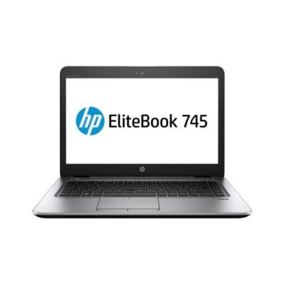 Ультрабук HP EliteBook 745 G3 (P4T40EA) (P4T40EA)Ультрабуки HP<br>14(1920x1080 (матовый))/AMD A10 PRO 8700B(1.8Ghz)/8192Mb/256SSDGb/noDVD/Int:AMD Radeon R6/Cam/BT/WiFi/LTE/3G/50WHr/war 3y/1.54kg/silver/black metal/W7Pro + W10Pro key + USB-C<br>