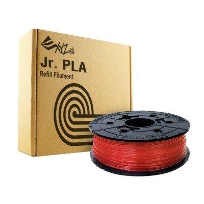 Пластик PLA XYZ сменная катушка для Junior, Clear Red (красный), 600гр (RFPLCXEU02A)Пластик PLA XYZ<br>Пластик PLA сменная катушка для Junior, Clear Red (красный), 600гр<br>