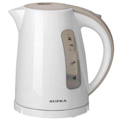 Электрический чайник Supra KES-1726 белый/бежевый (KES-1726 белый/бежевый) электрический чайник supra kes 1726 белый желтый kes 1726 белый желтый