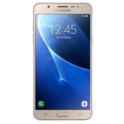 Смартфон Samsung Galaxy J7 (2016) золотой (SM-J710FZDUSER) чехол аккумулятор exeq helping sc08 samsung galaxy s5 3300 мач клип кейс белый