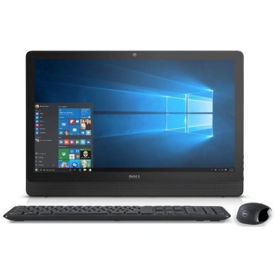 Моноблок Dell Inspiron 3459 (3459-1707) (3459-1707)Моноблоки Dell<br>Моноблок Dell Inspiron 3459 23 Full HD i3 6100U (2.3)/4Gb/1Tb 5.4k/HDG4400 2Gb/Windows 10 Home Single Language 64/WiFi/BT/клавиатура/мышь/черный 1920x1080<br>