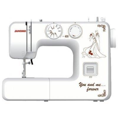 Швейная машина Janome 777 белый (777) швейная машина janome dresscode белый