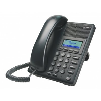 VoIP-телефон D-Link DPH-120SE/F1A (DPH-120SE/F1A)VoIP-телефоны D-Link<br>D-Link DPH-120SE/F1A, VoIP Phone with PoE support Support Call Control Protocol SIP, Russian menu, P2P connections 2- 10/100BASE-TX Fast Ethernet Acoustic echo cancellation(G.167) QoS IEEE 802.1Q<br>