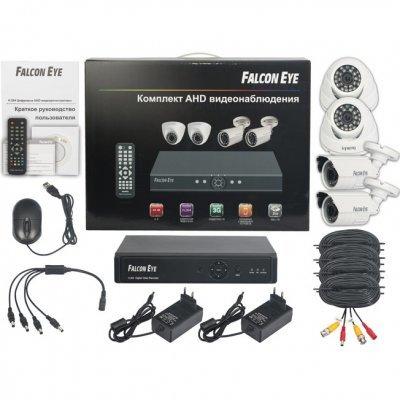 Комплект видеонаблюдения Falcon Eye FE-104AHD KIT Light (FE-104AHD KIT LIGHT)Комплекты видеонаблюдения Falcon Eye<br>Комплект видеонаблюдения Falcon Eye FE-104AHD KIT Light<br>