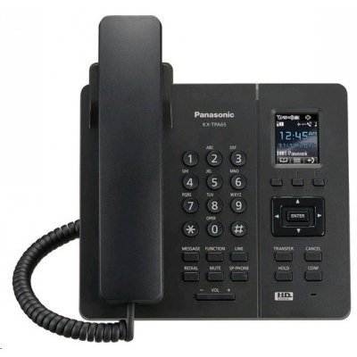 VoIP-телефон Panasonic KX-TPA65RUB черный (KX-TPA65RUB) practical voip security