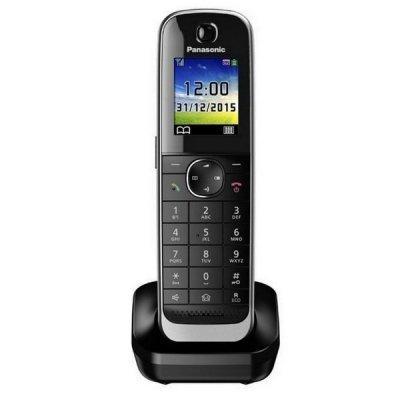 Радиотелефон Panasonic KX-TGJA30RUB черный для KX-TGJx (KX-TGJA30RUB) радиотелефон dect panasonic kx tgh212rub дополнительная трубка kx tgha20 черный