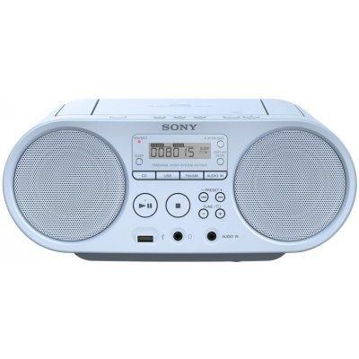 Аудиомагнитола Sony ZS-PS50 голубой (ZSPS50L.RU5), арт: 232376 -  Аудиомагнитолы Sony