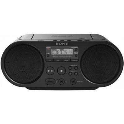 Аудиомагнитола Sony ZS-PS50 черный (ZSPS50B.RU5), арт: 232377 -  Аудиомагнитолы Sony