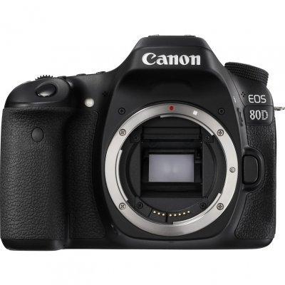 Цифровая фотокамера Canon EOS 80D Body (1263C010) фотоаппарат canon eos 80d body