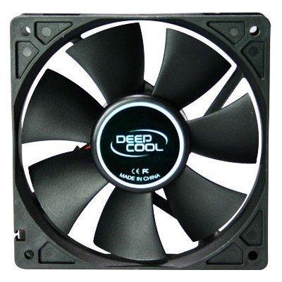 Система охлаждения корпуса ПК DeepCool Deepcool XFAN 120 (XFAN 120) вентилятор корпусной deepcool xfan 120l b 120x120x25 3pin 26db 1300rpm 119g голубой led