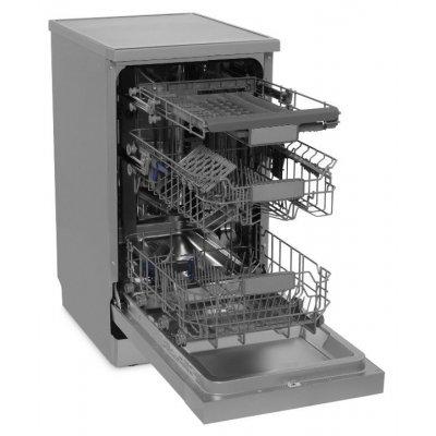 Посудомоечная машина Whirlpool ADPF 851 IX серебристый (узкая) (ADPF 851 IX)Посудомоечные машины Whirlpool<br>Посудомоечная машина Whirlpool ADPF 851 IX серебристый (узкая)<br>