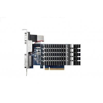 Видеокарта ПК ASUS GeForce GT 710 954Mhz PCI-E 2.0 2048Mb 1800Mhz 64 bit DVI HDMI HDCP (90YV0940-M0NA00) видеокарта 6144mb msi geforce gtx 1060 gaming x 6g pci e 192bit gddr5 dvi hdmi dp hdcp retail