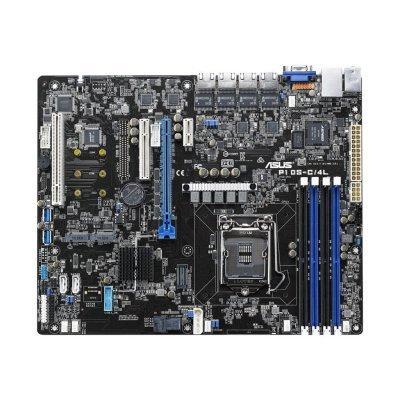 Серверная платформа ASUS C232 (90SB0530-M0UAY0) (90SB0530-M0UAY0) материнская плата серверная