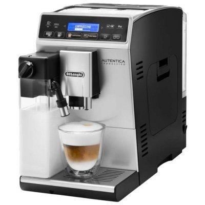 Кофемашина Delonghi ETAM 29.660 SB (ETAM 29 660 SB)Кофемашины Delonghi<br>кофеварка эспрессо<br>автоматическая<br>для зернового и молотого кофе<br>кофемолка с регулировкой степени помола<br>контроль крепости кофе<br>регулировка порции воды<br>самоочистка от накипи<br>приготовление капучино<br>отключение при неиспользовании<br>
