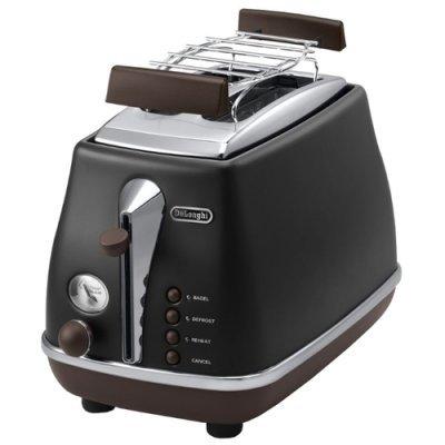 Тостер Delonghi CTOV 2103 BK (CTOV 2103 BK) тостер delonghi ctov 2103 az