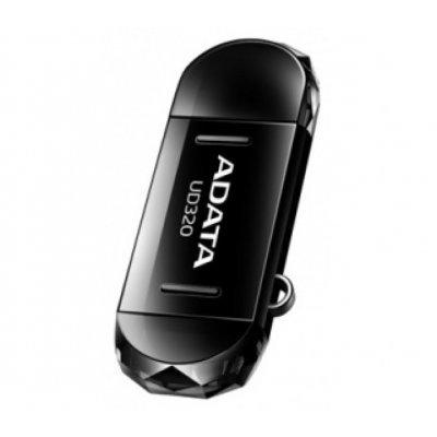 USB накопитель A-Data AUD320-16G-RBK (AUD320-16G-RBK)USB накопители A-Data<br>Флеш накопитель 16GB A-DATA DashDrive UD320 OTG, USB 2.0/MicroUSB, Черный<br>