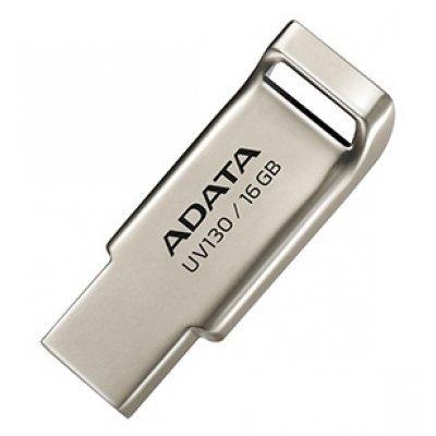 USB накопитель A-Data AUV130-16G-RGD (AUV130-16G-RGD)USB накопители A-Data<br>Флеш накопитель 16GB A-DATA UV130, USB 2.0, Золотистый<br>