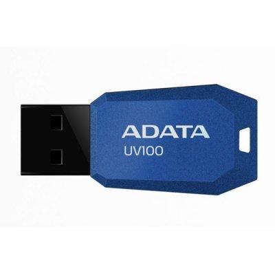 USB накопитель A-Data AUV100-32G-RBL (AUV100-32G-RBL) накопитель ssd a data adata ultimate su800 512gb asu800ss 512gt c