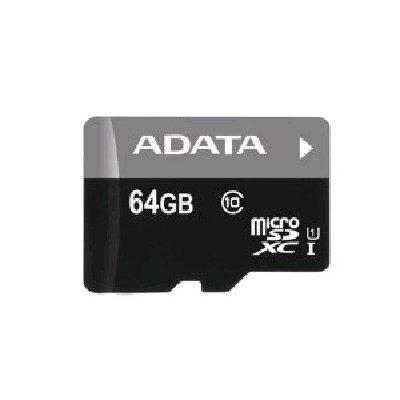 Карта памяти A-Data Premier 64GB microSDXC Class 10 UHS-I U1 (AUSDX64GUICL10-R) transcend microsdxc class 10 uhs i 64gb карта памяти адаптер