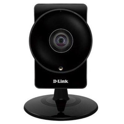 Камера видеонаблюдения D-Link DCS-960L (DCS-960L)Камеры видеонаблюдения D-Link<br>Беспроводная облачная сетевая HD-камера с углом обзора 180° и поддержкой ночной съемки.<br>