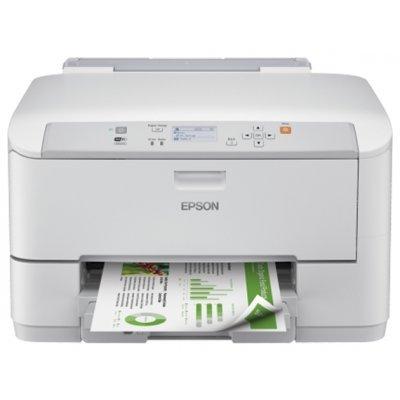 Струйный принтер Epson WorkForce Pro WF-5110DW (C11CD12301)Струйные принтеры Epson<br>принтер для небольшого офиса 4-цветная струйная печать макс. формат печати A4 (210 x 297 мм) печать фотографий цветной ЖК-дисплей двусторонняя печать Wi-Fi, Ethernet<br>
