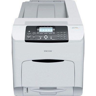 Цветной лазерный принтер Ricoh Aficio SPC440DN (407774)Цветные лазерные принтеры Ricoh<br>Цветной лазерный принтер Ricoh Aficio SPC440DN (А4, 40 стр./мин, PCL/PS3, сеть/дуплекс) + стартовые картриджи 3К<br>