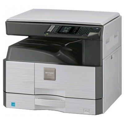 Монохромный лазерный МФУ Sharp AR-6020D (AR6020D)Монохромные лазерные МФУ Sharp<br>МФУ SHARP AR6020D A3, Копир, SPLC-принтер, Цветной Сканер, DUPLEX, SOPM, SRU, E-sort, USB + комплект расх. материалов<br>