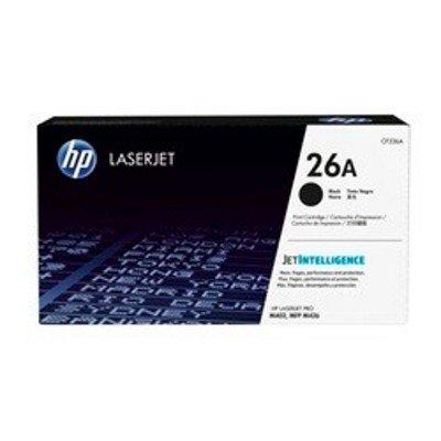 Тонер-картридж для лазерных аппаратов HP 26A CF226A черный для LJ Pro M402/M426 (3100стр.) (CF226A)Тонер-картриджи для лазерных аппаратов HP<br>Тонер Картридж HP 26A CF226A черный для HP LJ Pro M402/M426 (3100стр.)<br>