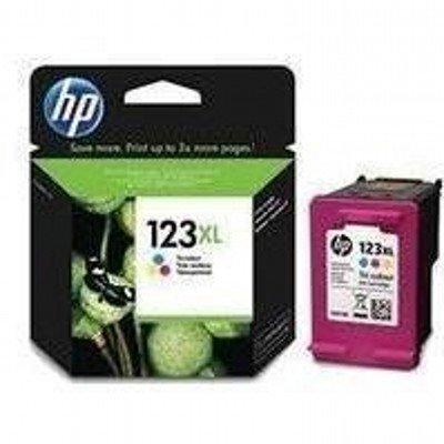 Картридж для струйных аппаратов HP 123XL F6V18AE многоцветный для DJ 2130 (330стр.) (F6V18AE)