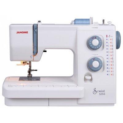 Швейная машина Janome 525 S белый (Janome 525 S белый) швейная машинка janome sew mini deluxe
