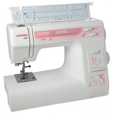 Швейная машина Janome 90E белый (Janome 90E белый) швейная машинка janome sew mini deluxe