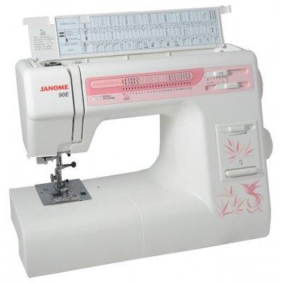 Швейная машина Janome 90E белый (Janome 90E белый) швейная машина janome dresscode