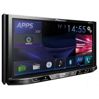 Автомагнитола Pioneer AVH-X5800BT (AVH-X5800BT)Автомагнитолы Pioneer<br>автомагнитола 2 DIN<br>DVD-проигрыватель<br>сенсорный дисплей 7<br>макс. мощность 4 x 50 Вт<br>воспроизведение с USB и iPod<br>аудиовход на передней панели<br>радиоприемник с RDS<br>