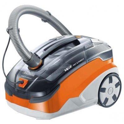 Пылесос Thomas моющий Twin Pet &amp; Family 1700Вт серый/оранжевый (788563) (788563)Пылесосы Thomas<br>пылесос<br>сухая и влажная уборка<br>с аквафильтром<br>без мешка для сбора пыли<br>пылесборник на 1.8 л<br>работа от сети<br>потребляемая мощность 1700 Вт<br>вес 8 кг<br>