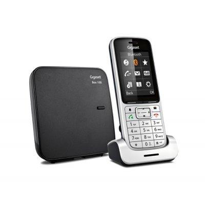 Радиотелефон Gigaset SL450 SYS (SL450 SYS)Радиотелефоны Gigaset<br>Р/Телефон Dect Gigaset Gigaset SL450 SYS серебристый/черный АОН<br>