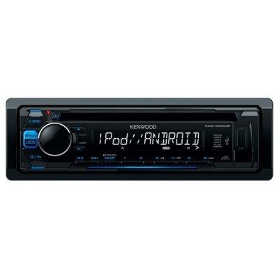 Автомагнитола Kenwood KDC-200UB (KDC-200UB)Автомагнитолы Kenwood<br>автомагнитола 1 DIN<br>CD-проигрыватель<br>макс. мощность 4 x 50 Вт<br>воспроизведение с USB и iPod<br>аудиовход на передней панели<br>радиоприемник с RDS<br>