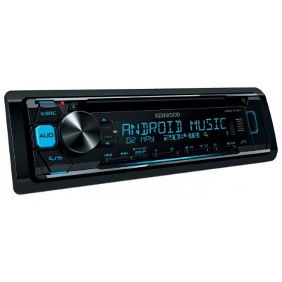 Автомагнитола Kenwood KDC-170Y (KDC-170Y) автомагнитола kenwood kdc 151ry usb mp3 cd fm 1din 4х50вт черный