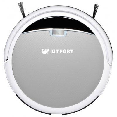 Пылесос Kitfort КТ-519-2 (КТ-519-2)Пылесосы Kitfort<br>робот-пылесос<br>сухая уборка<br>таймер<br>время работы от аккумулятора до 130 мин<br>местная уборка<br>потребляемая мощность 20 Вт<br>вес 2.2 кг<br>