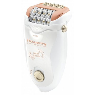 Эпилятор Rowenta EP 5700 (1830005835)Эпиляторы Rowenta<br>Эпилятор Rowenta EP5700F0 скор.:2 насад.:1 от электр.сети белый/розовый<br>