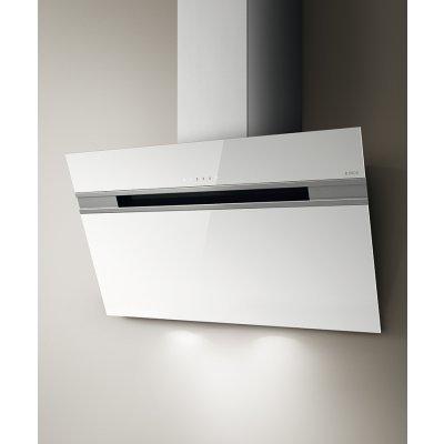 Вытяжка Elica STRIPE WH/A/90/LX (PRF0100995)Вытяжки Elica<br>Режимы работы: отвод/циркуляция Шиpина (см): 90 Цвет: белое стекло Количество скоростей: 3 скорости + интенсивный режим Освещение: Halo 2x20 Вт Система управления: Touch control Макс.производительность (м3ч): 900 Уровень шума (db): 43 - 59<br>