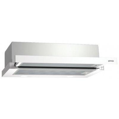 Вытяжка Gorenje BHP623E10W (BHP623E10W)Вытяжки Gorenje<br>кухонная вытяжка<br>встраивается в навесной шкафчик<br>отвод / циркуляция<br>для небольших кухонь<br>ширина для установки 60 см<br>мощность 91 Вт<br>механическое управление<br>