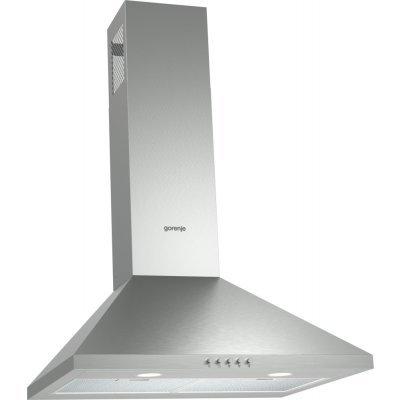 Вытяжка Gorenje WHC623E16X (WHC623E16X)Вытяжки Gorenje<br>Тип каминная 60см мощность 505 куб.м кнопочное управление цвет нержавеющая сталь<br>