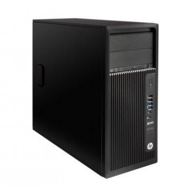 Рабочая станция HP Z240 (J9C15EA) (J9C15EA)Рабочие станции HP<br>Tower / Win10p64DowngradeWin764 / 8GB DDR4-2133 nECC (2x4GB) UDIMM / Intel HD GFX P530 (Xeon CPUs) / 1TB 7200 / E3-1225v5 3.3 GHz  TWR / 3yw / SuperMultiODD / USBBusinessSlimkbd / USBmouse<br>