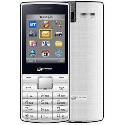 Мобильный телефон Micromax X705 белый (X705 White)Мобильные телефоны Micromax<br>поддержка двух SIM-карт,экран 2.4, разрешение 220x176, камера<br>