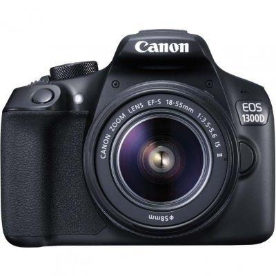 Цифровая фотокамера Canon EOS 1300D Kit (EOS 1300D Kit)Цифровые фотокамеры Canon<br>любительская зеркальная фотокамера<br>байонет Canon EF/EF-S<br>объектив в комплекте, модель уточняйте у продавца<br>матрица 18.7 МП (APS-C)<br>съемка видео Full HD<br>экран 3<br>Wi-Fi<br>вес с элементами питания без объектива 485 г<br>
