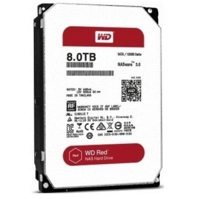Жесткий диск ПК Western Digital WD80EFZX 8Tb (WD80EFZX) жесткий диск 3 5 8 tb 5400rpm 128mb cache western digital red sataiii wd80efzx