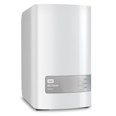 Сетевой накопитель NAS Western Digital My Cloud Mirror 4Tb WDBWVZ0040JWT-EESN (WDBWVZ0040JWT-EESN)Сетевые накопители NAS Western Digital<br>Сетевой RAID накопитель WD My Cloud Mirror WDBWVZ0040JWT-EESN 4000ГБ 3,5 LAN<br>