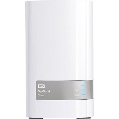 Сетевой накопитель NAS Western Digital My Cloud Mirror 6TB WDBWVZ0060JWT-EESN (WDBWVZ0060JWT-EESN)Сетевые накопители NAS Western Digital<br>Сетевой RAID накопитель WD My Cloud Mirror WDBWVZ0060JWT-EESN 6000ГБ 3,5 LAN<br>